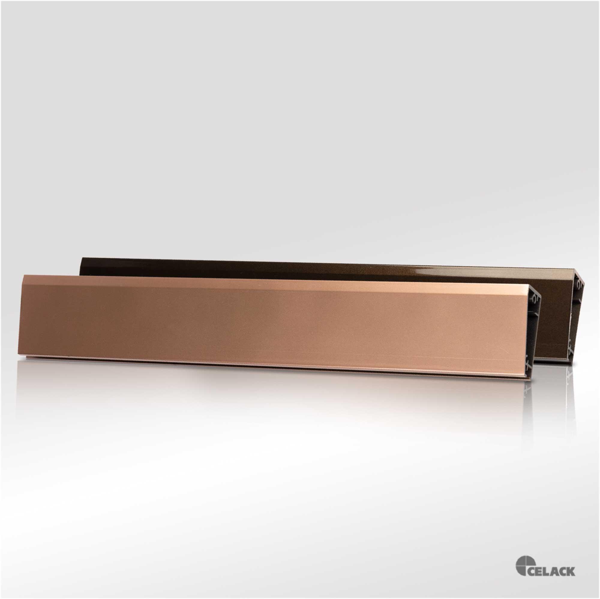 Profilo Oro rosa e Bronzo scuro | cromato 597